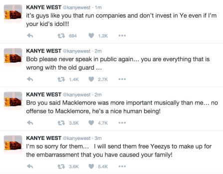 Kanye Rant 2